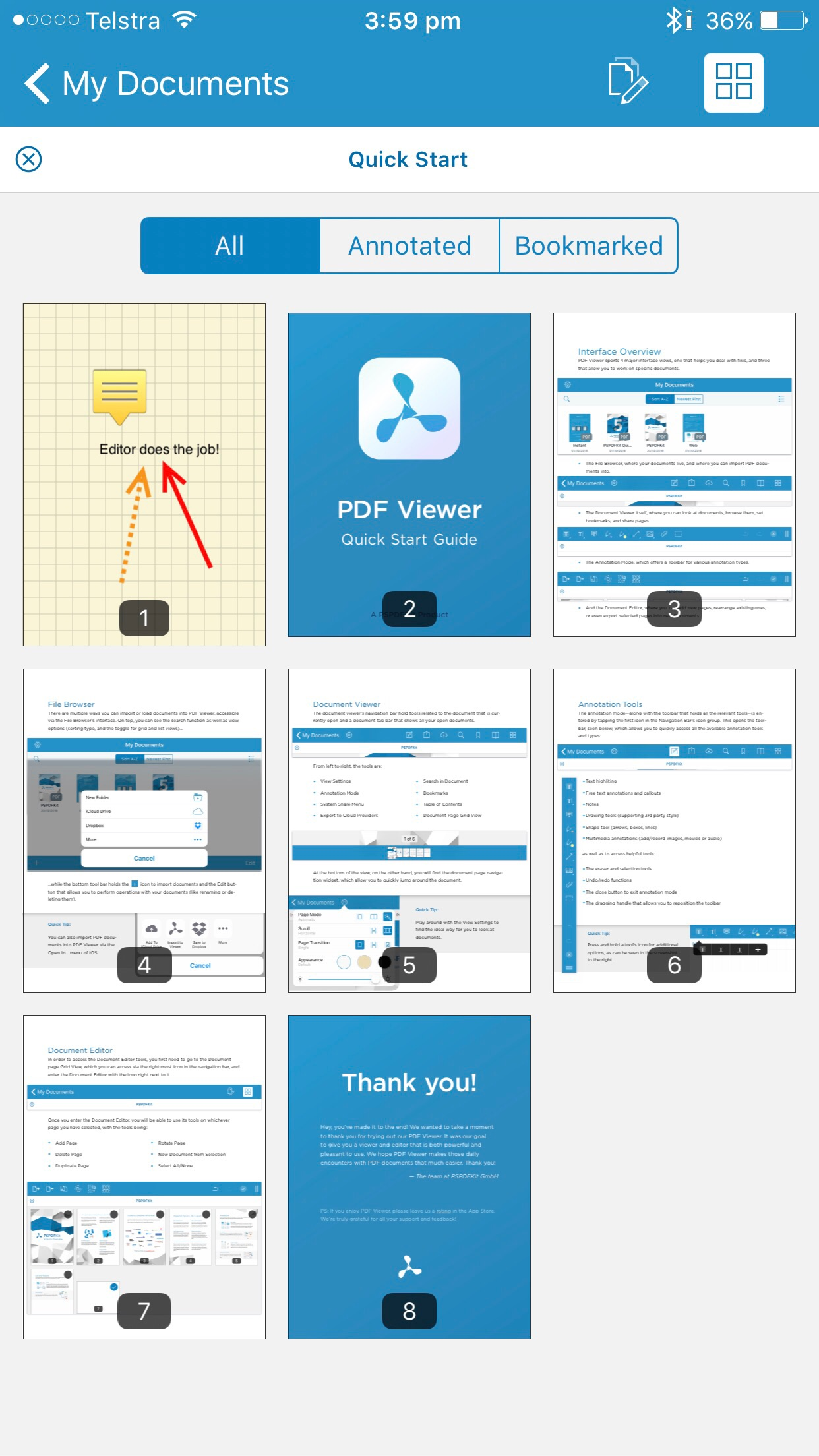 pdf viewer document