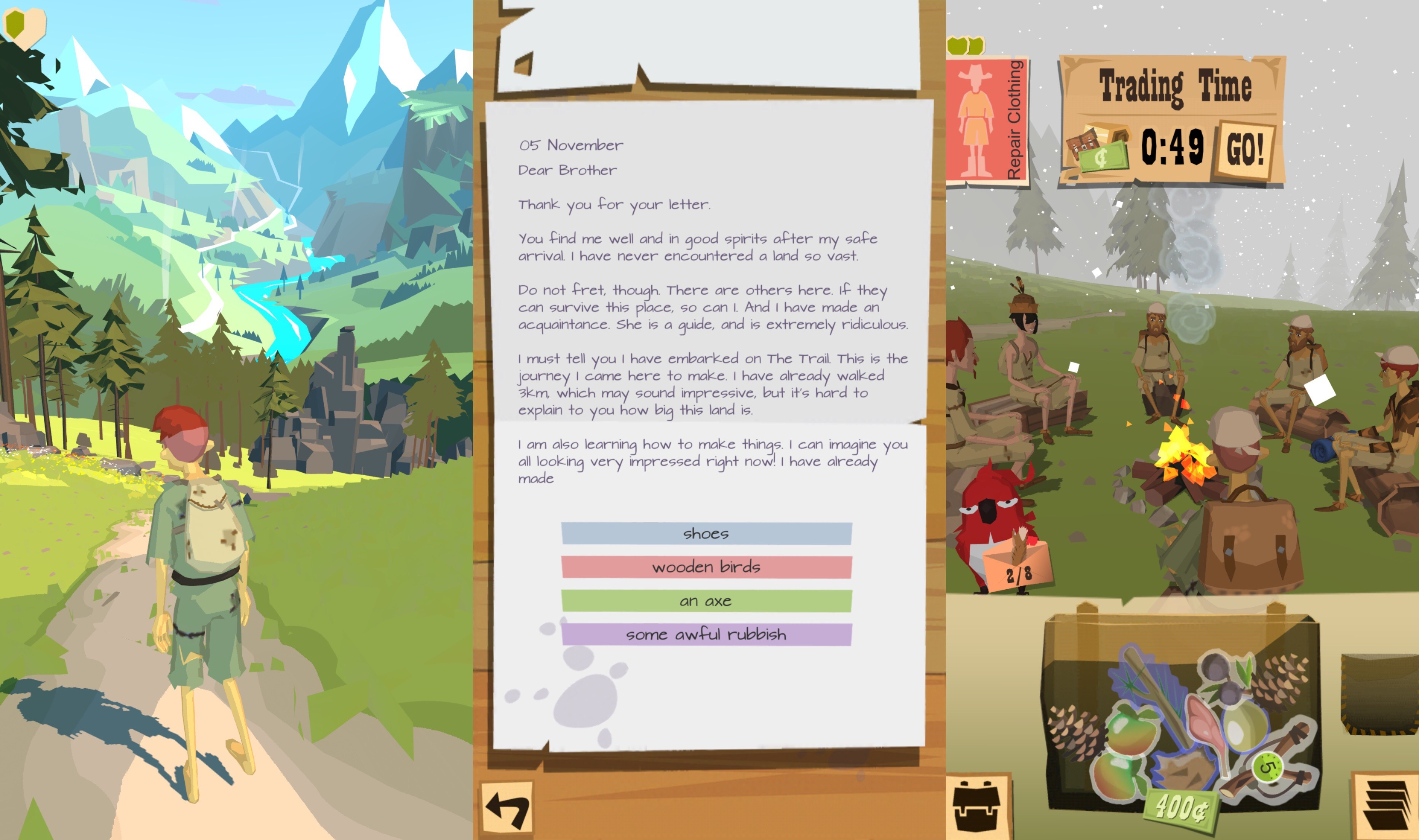 el juego de aplicaciones trail ios1