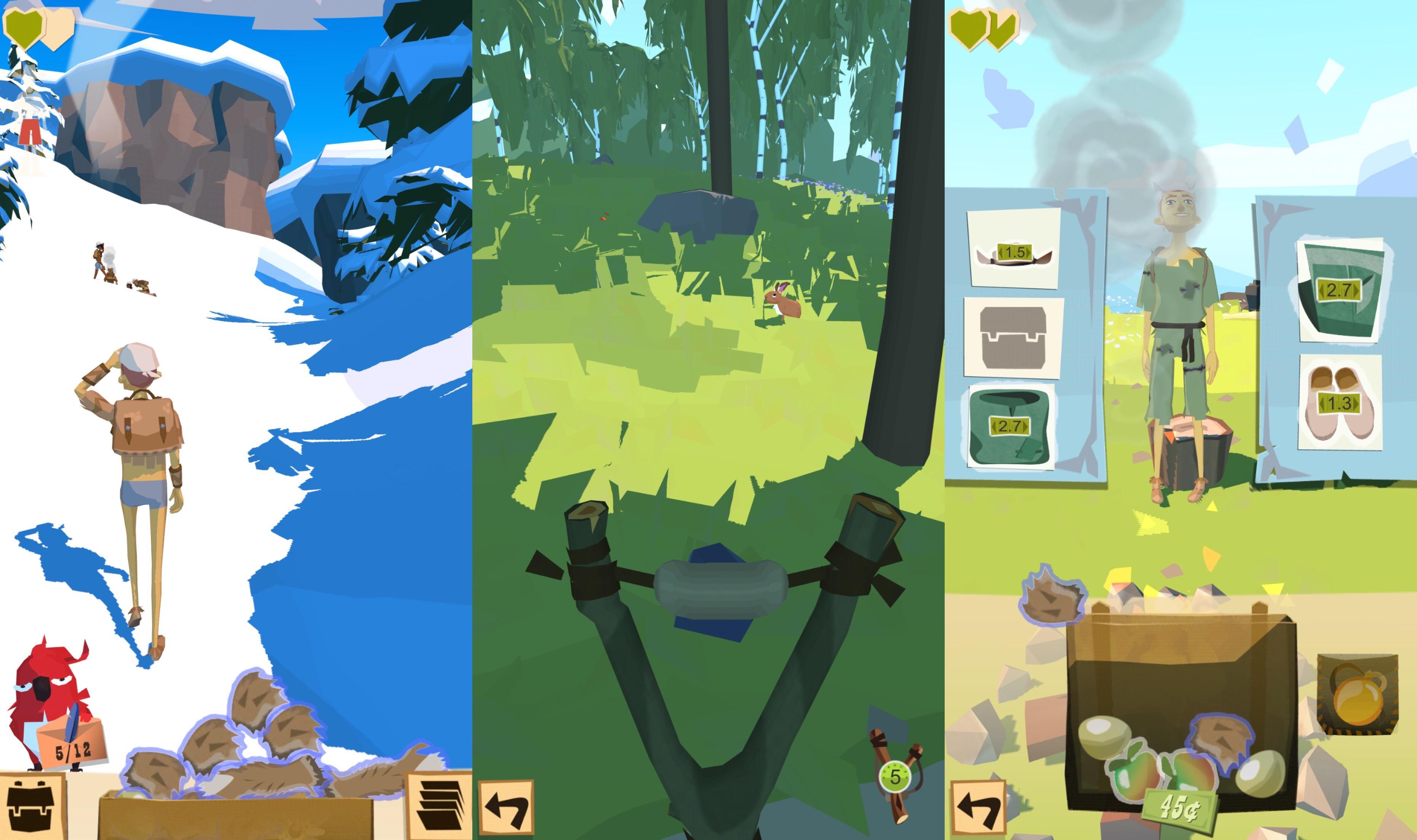 la aplicación de juegos trail ios0
