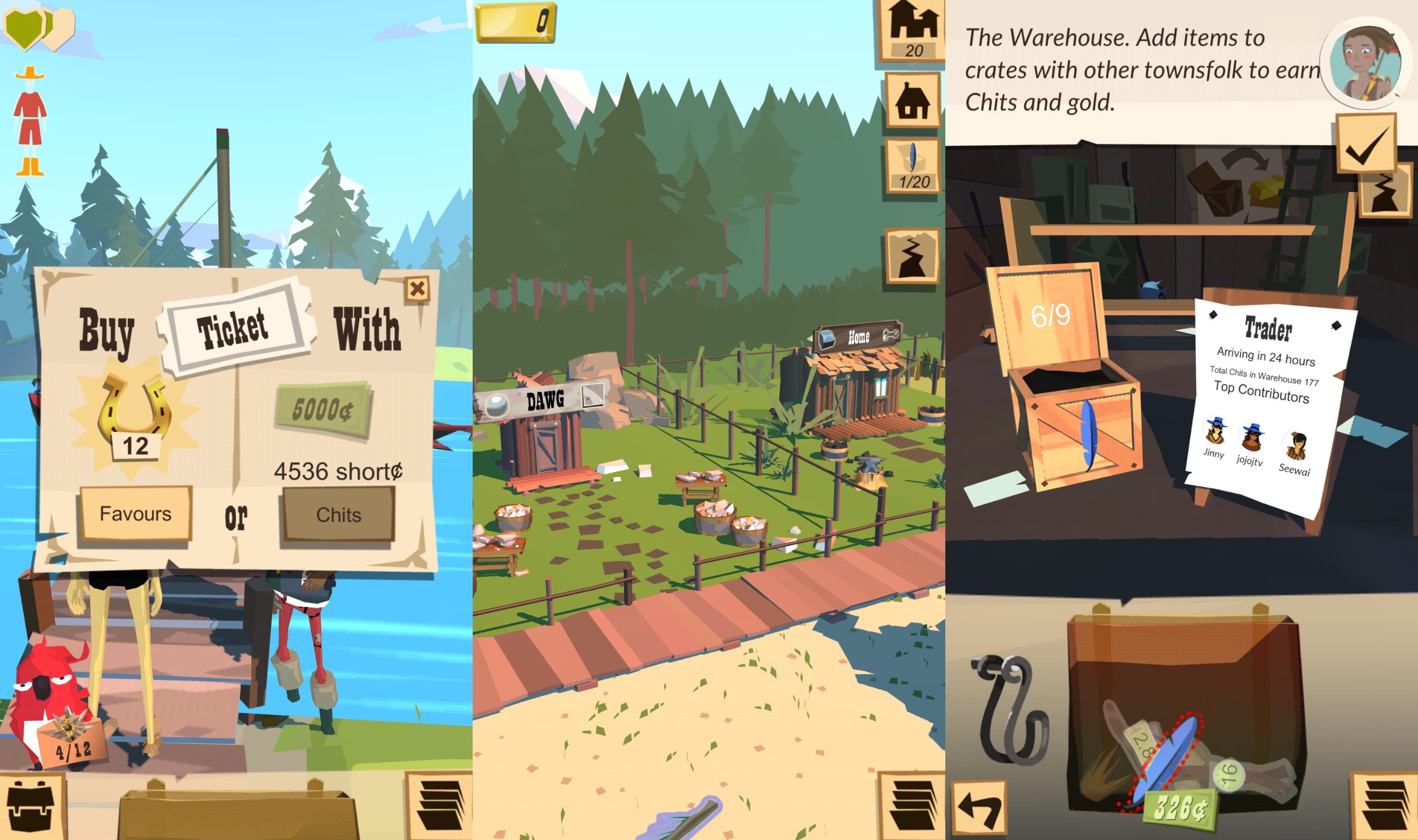 la aplicación del juego trail ios3