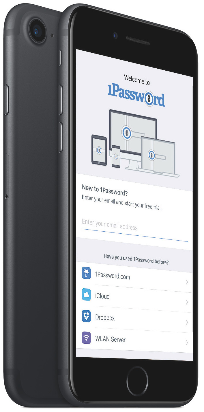1Password for iOS first run experience