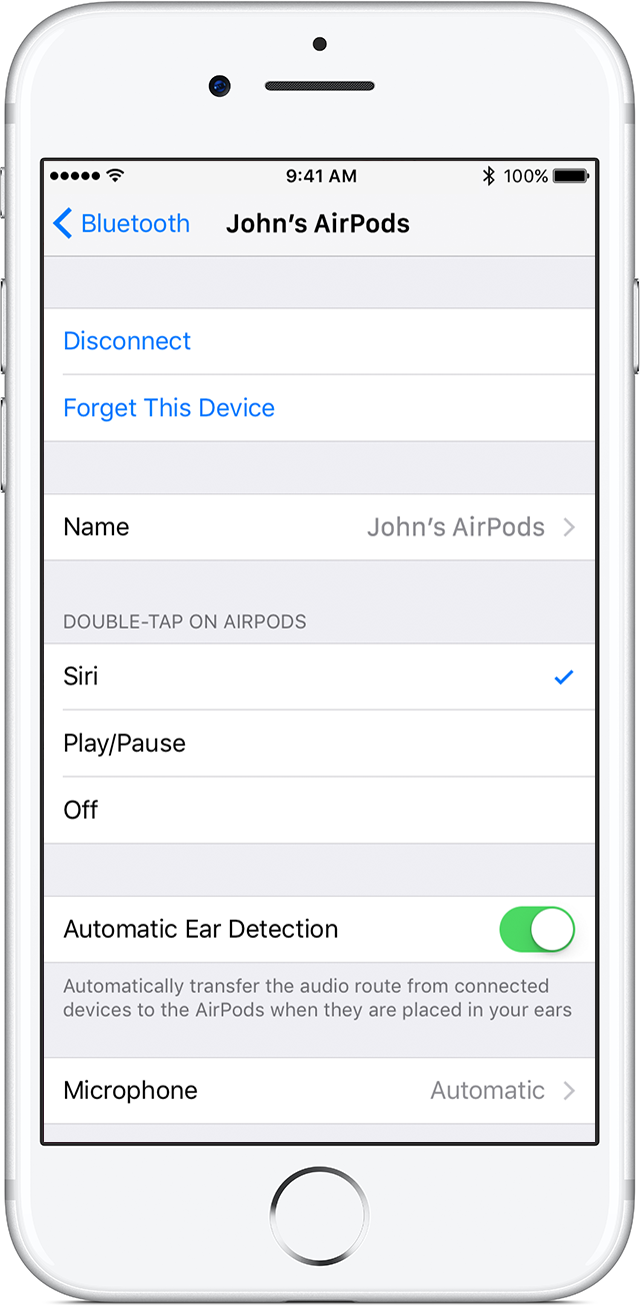 AirPods double-tap setting iPhone screenshot 001