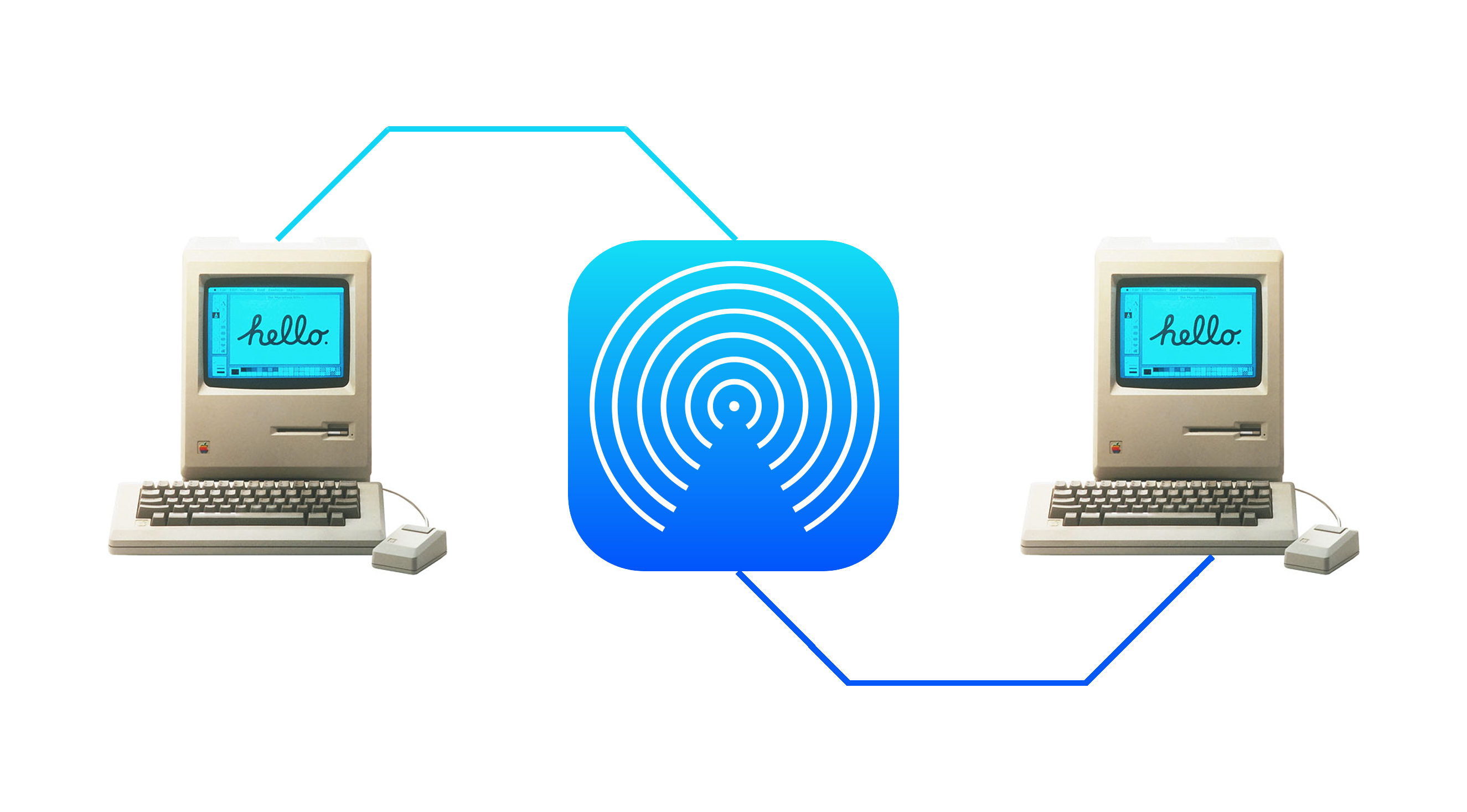 How to enable AirDrop file transfers between unsupported Macs and