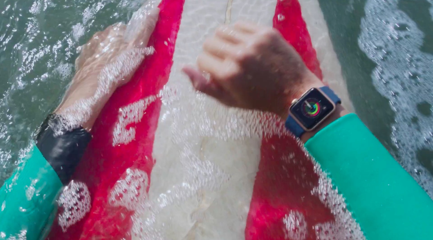 Apple Watch Series 2 ad Go Surf image 001