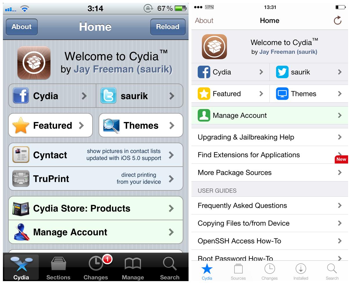 Cydia Homepage Old_New