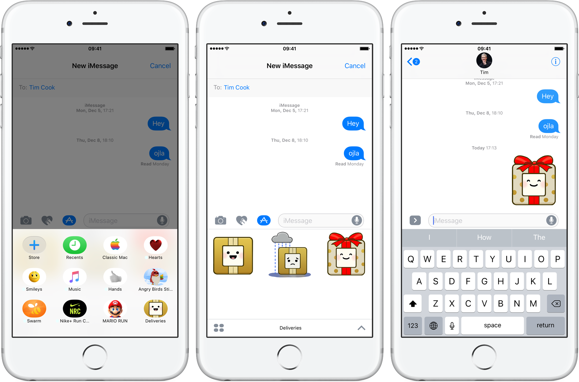 Deliveries 8.0 for iOS iMessage sticker pack iPhone screenshot 001