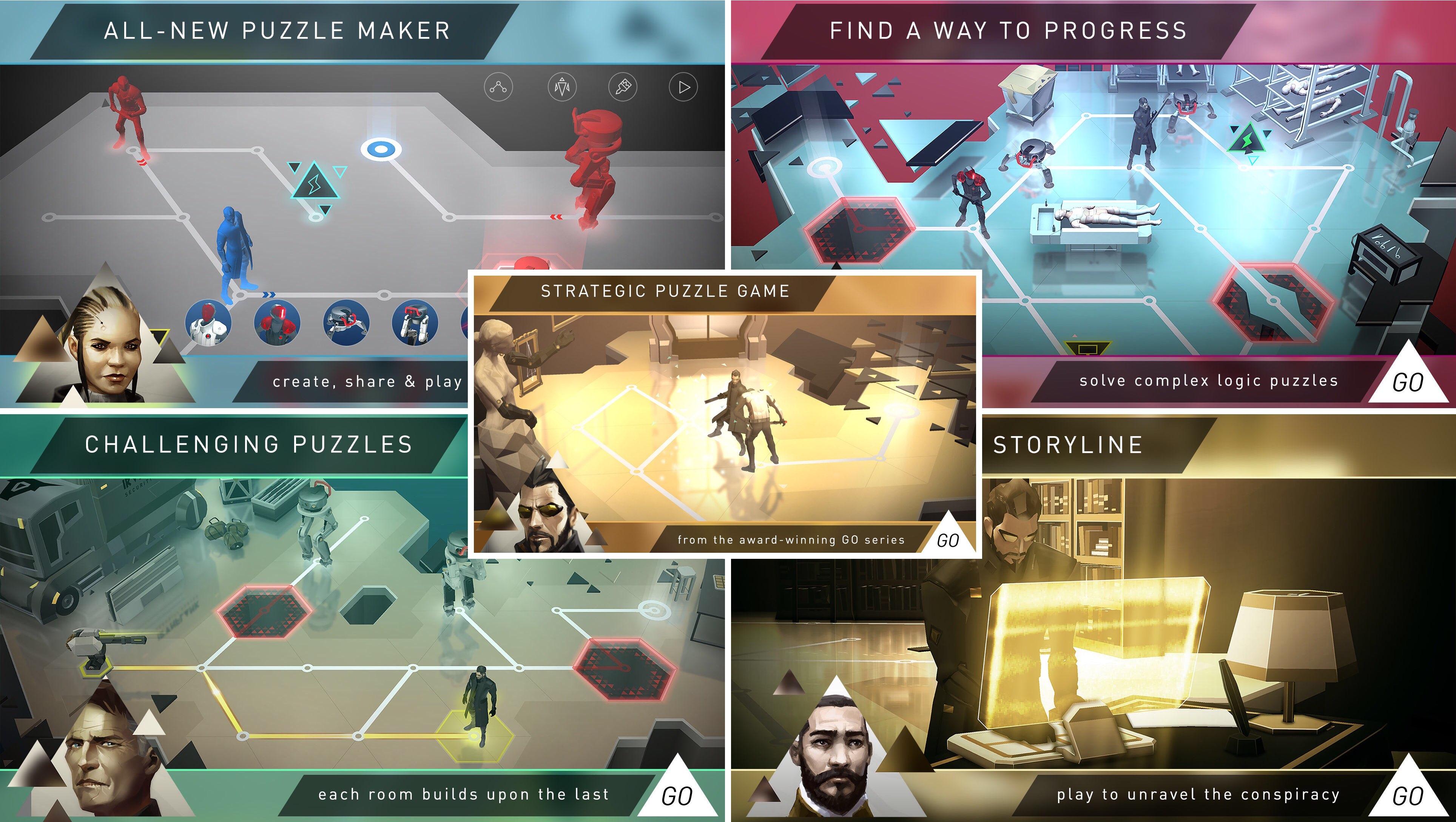 Deus Ex GO for tvOS Apple TV screenshot 001