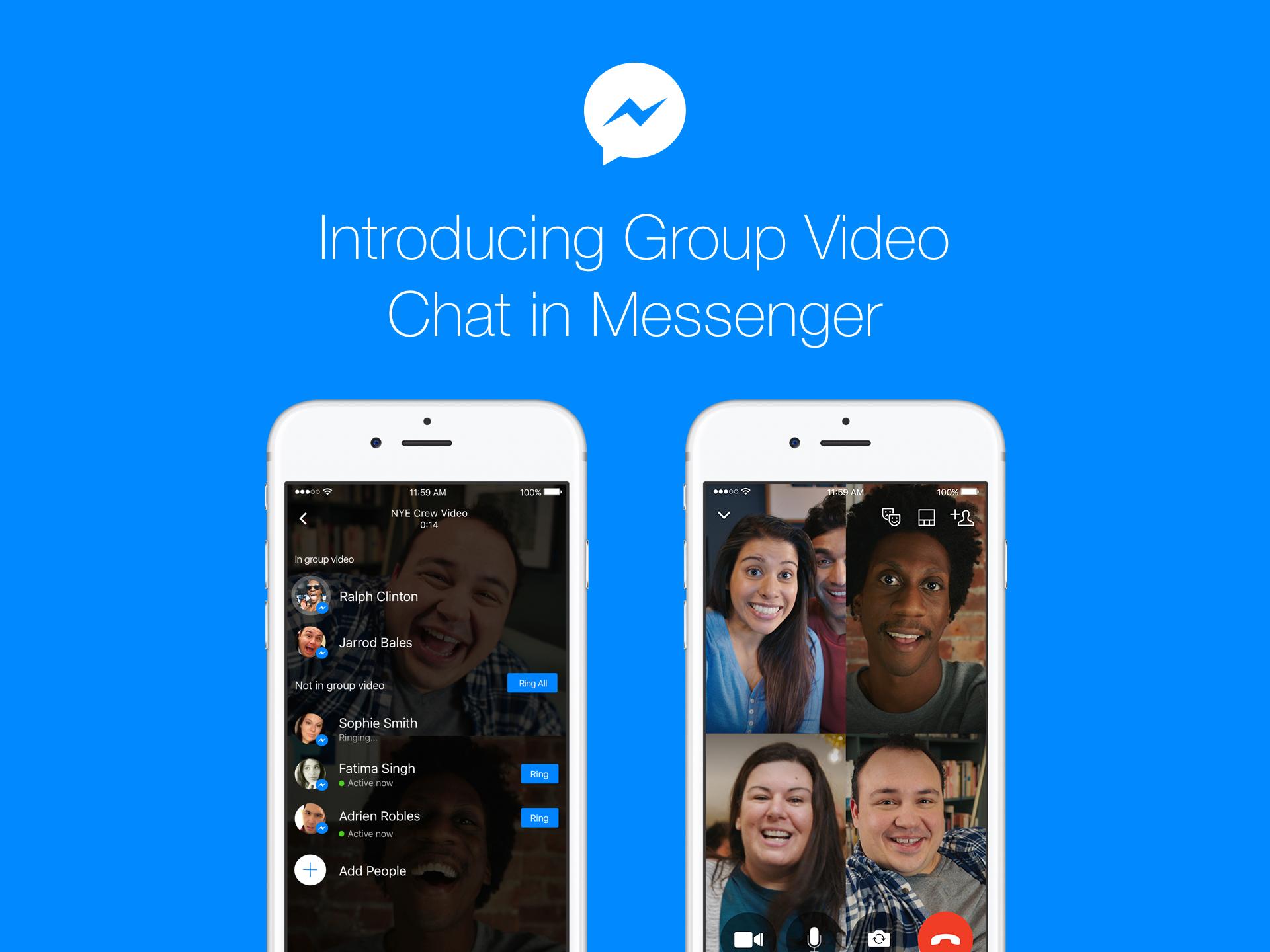 Facebook Messenger Group Video Chat teaser 001