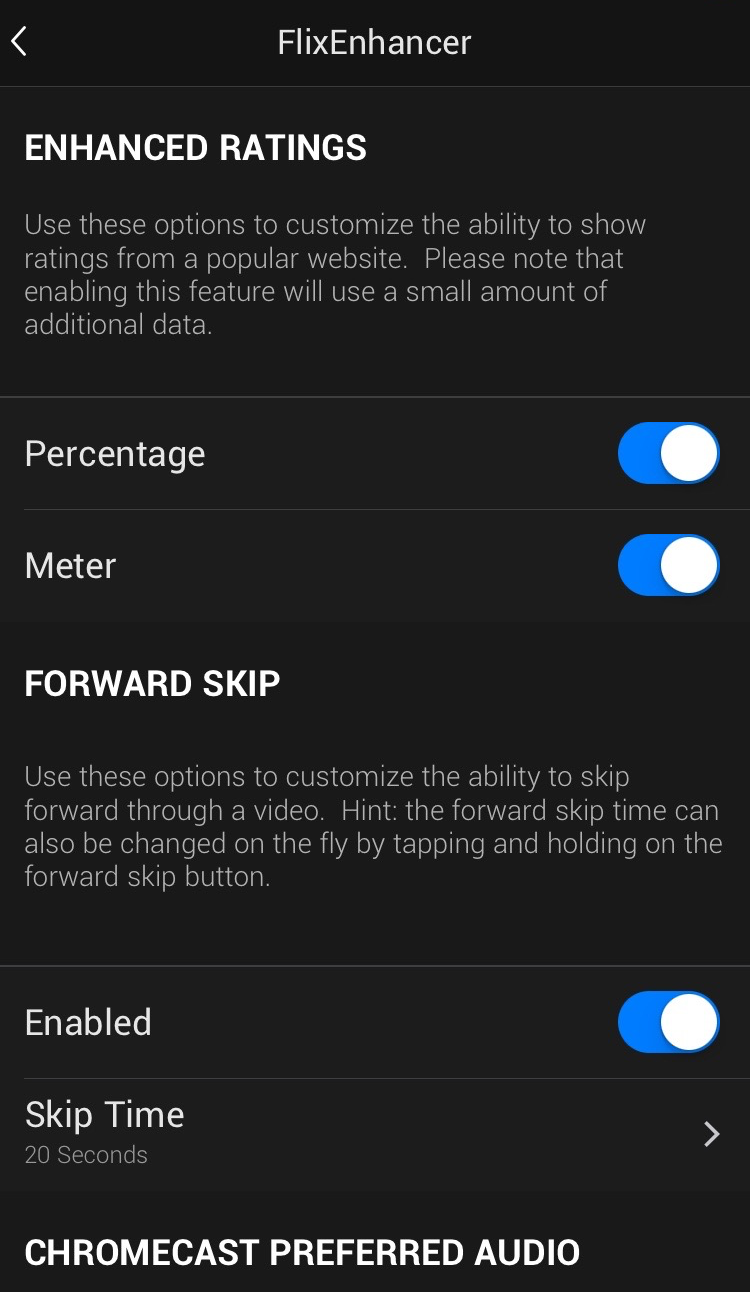 FlixEnhancer Preferences Pane