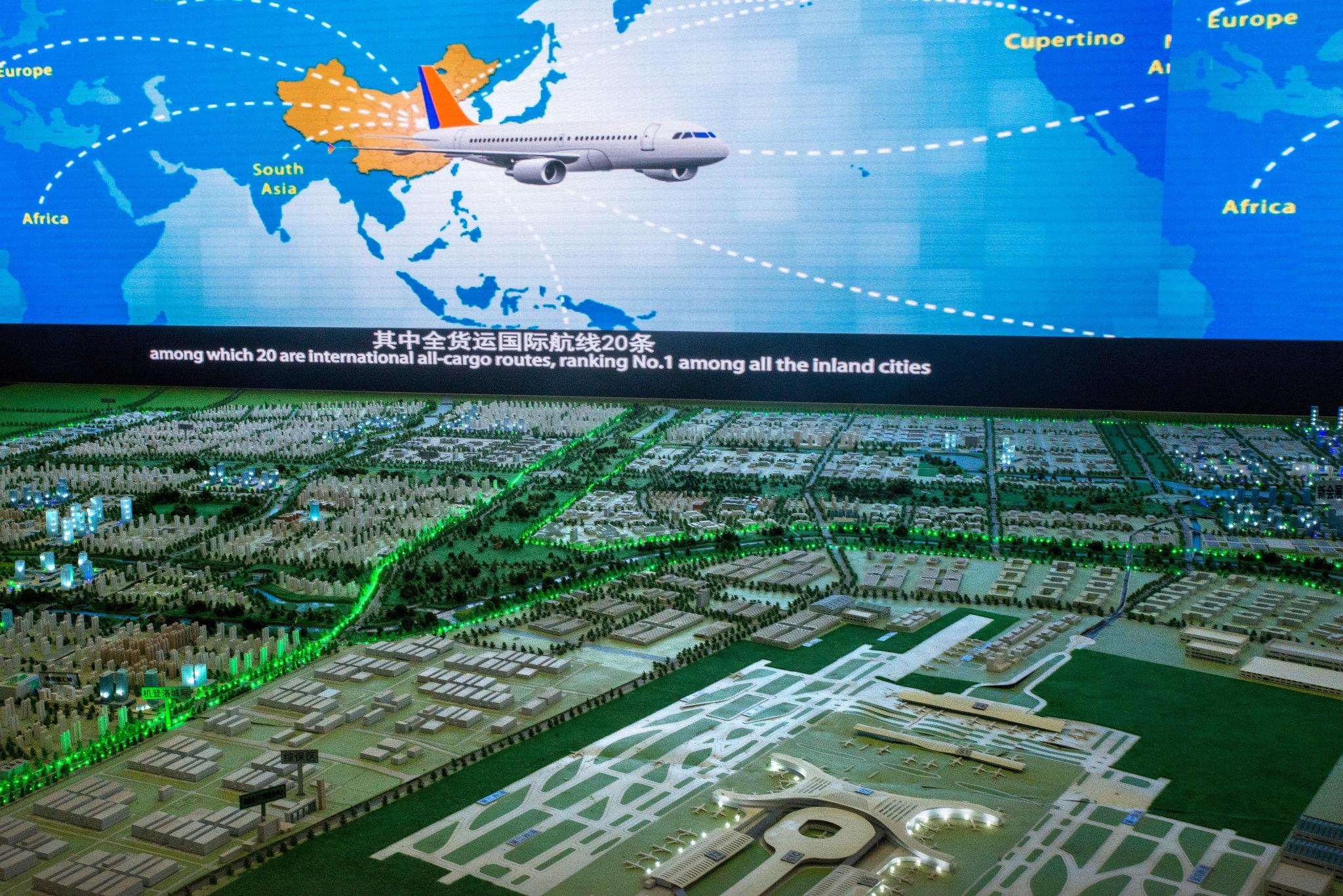 Foxconn iPhone City Zhengzhou Airport model image 004