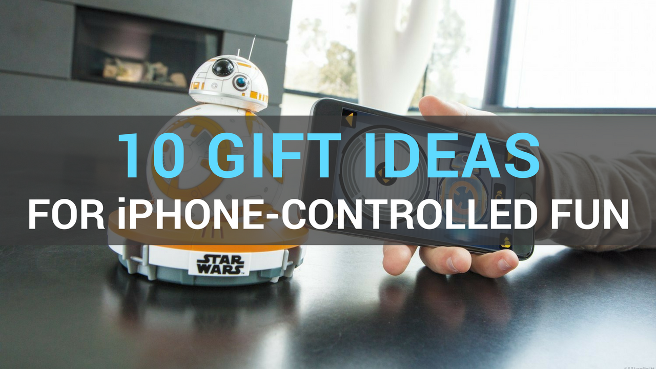 Gift ideas for iPhone drone car robot