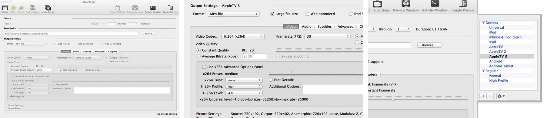 Handbrake 1.0 for macOS Mac screenshot 004