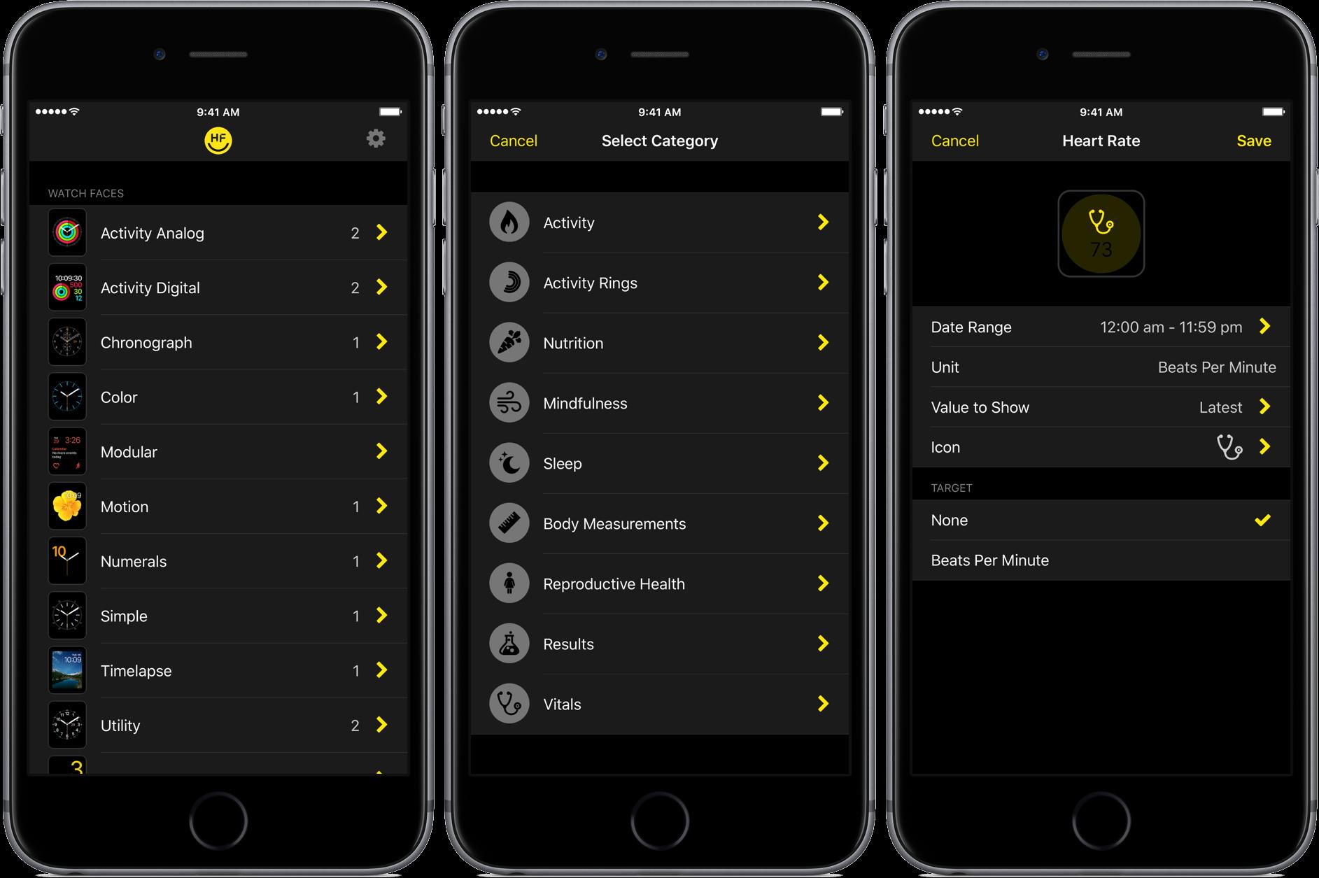 Demostración de la aplicación HealthFace iOS