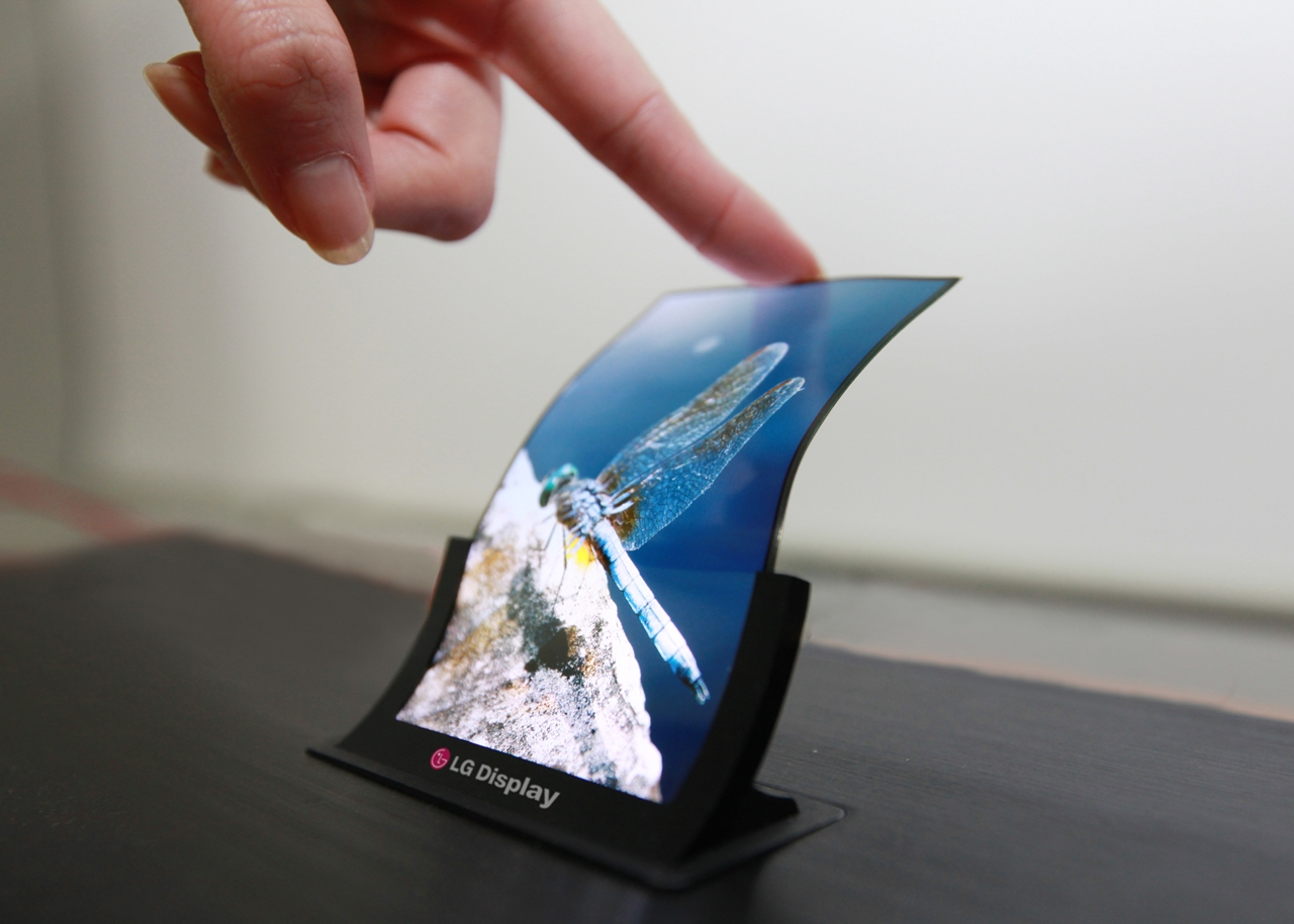 LG Display foldable screen AMOLED