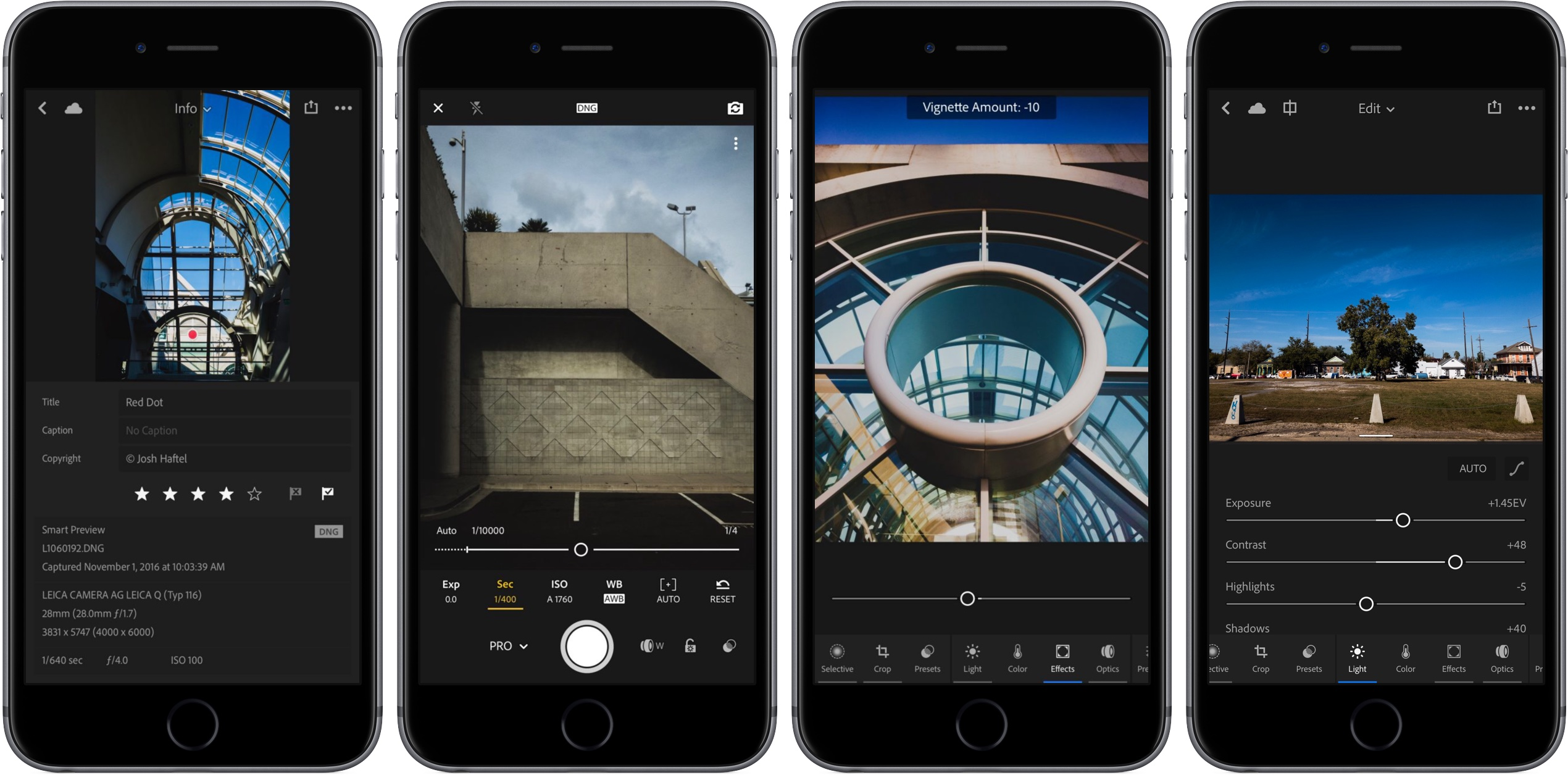 Captura de pantalla 001 de Lightroom 2.6 para iOS iPhone