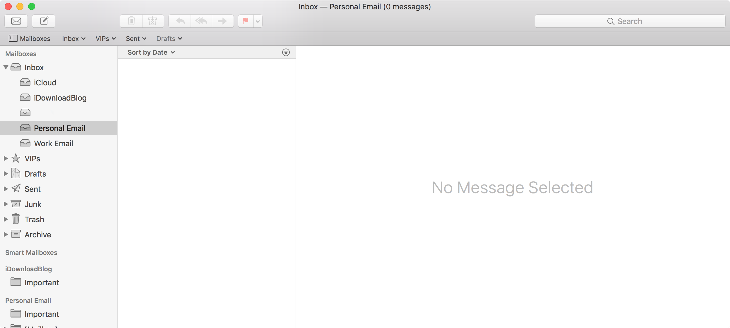 Mac Mail App Personal Email