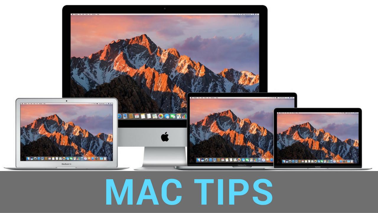 Consejos Mac