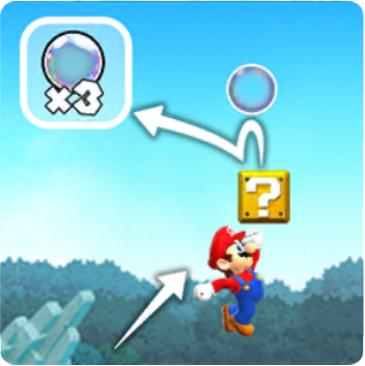 Mario Add Bubble