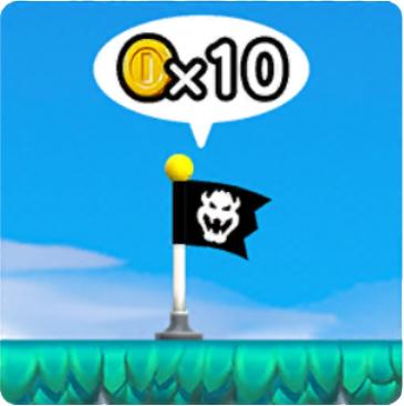 Mario Checkpoint Flag