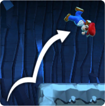 Mario Climbing Jump