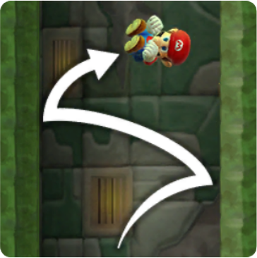 Mario Consecutive Wall Jumps