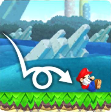 Mario Landing Roll
