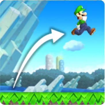 Mario Luigi High Jump