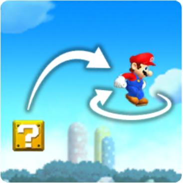 Mario Midair Spin