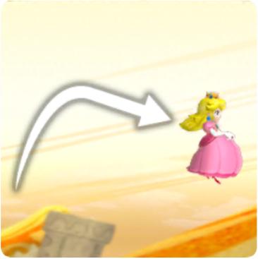 Mario Peach Floaty Jump