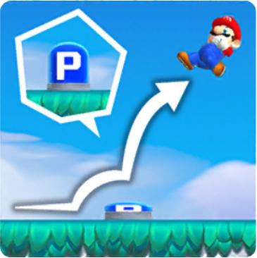 Mario Press a Switch