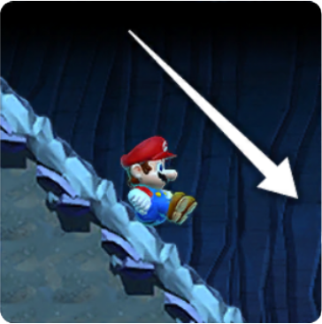 Mario Slope Slide