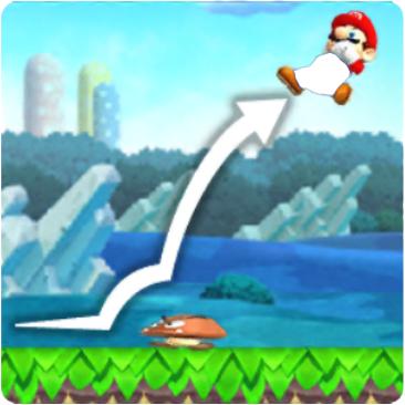 Mario Vaulting Jump