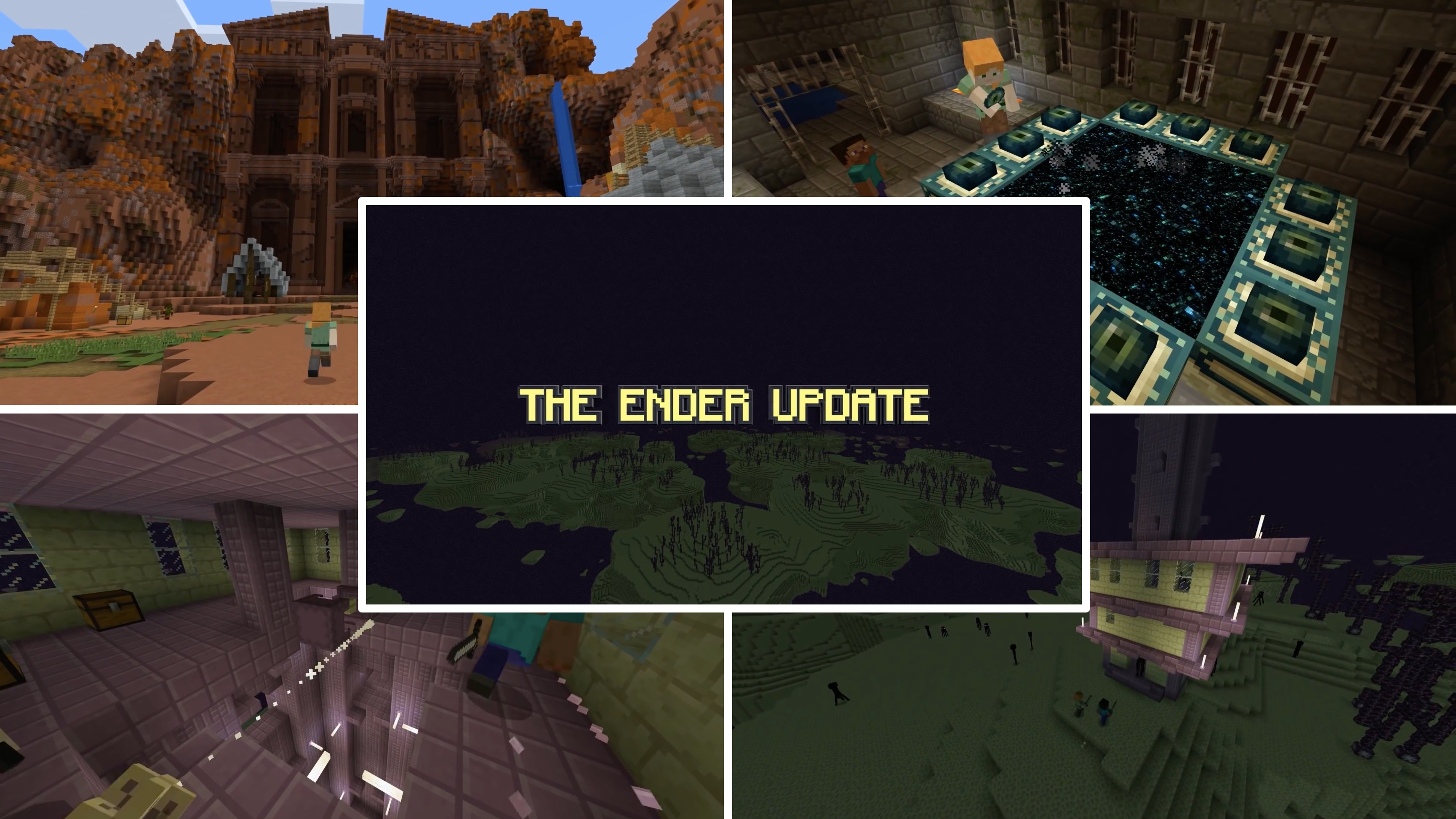 Minecraft Ender update screenshot 001