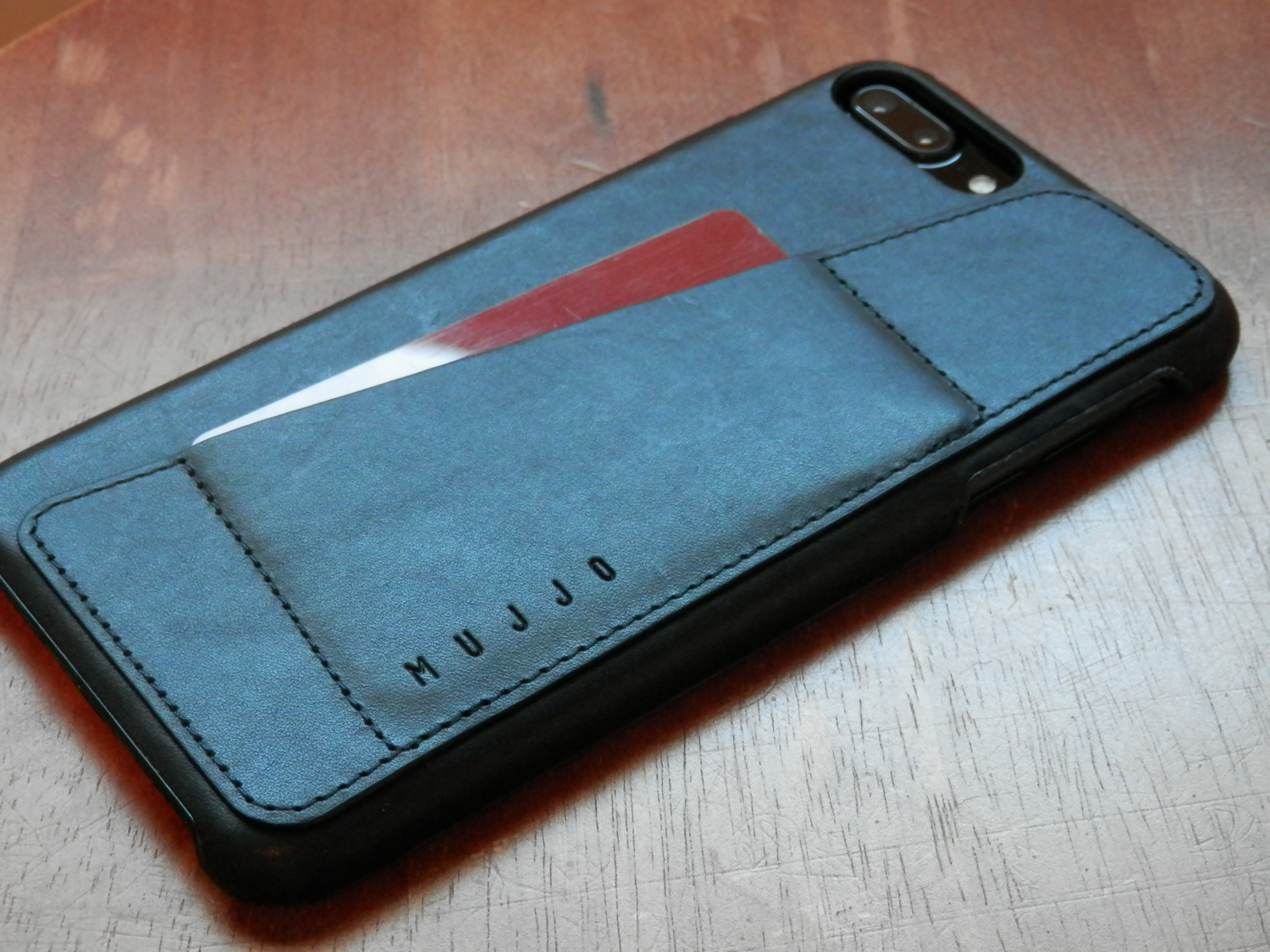 Mujjo Leather Wallet Case iPhone