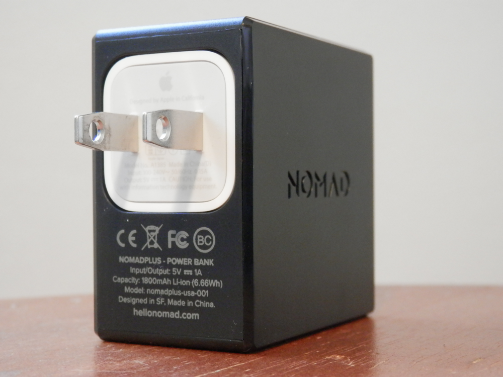 Nomad Plus Apple AC Adapter Infused