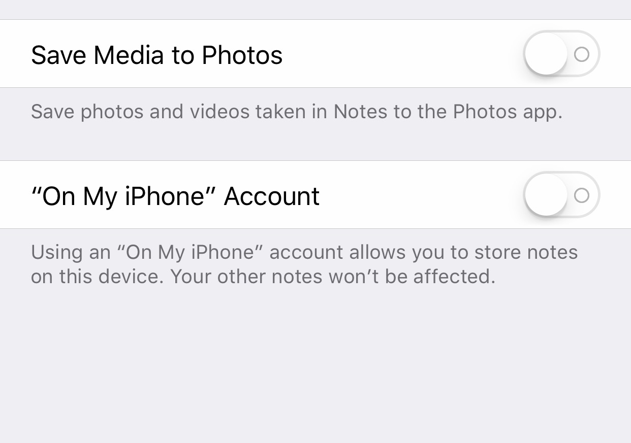 iCloud Notes not syncing - check if Notes Locally Stored