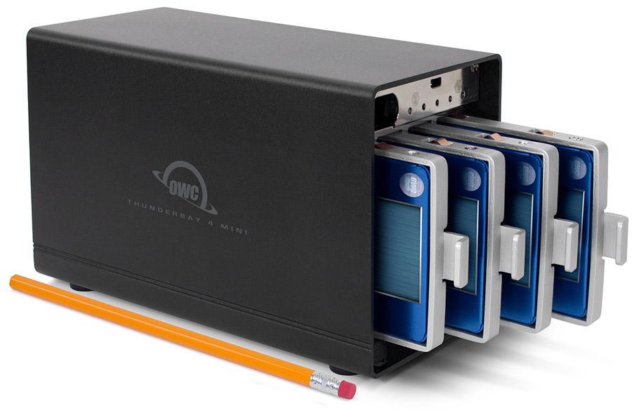 OWC ThunderBay 4 mini RAID image 001
