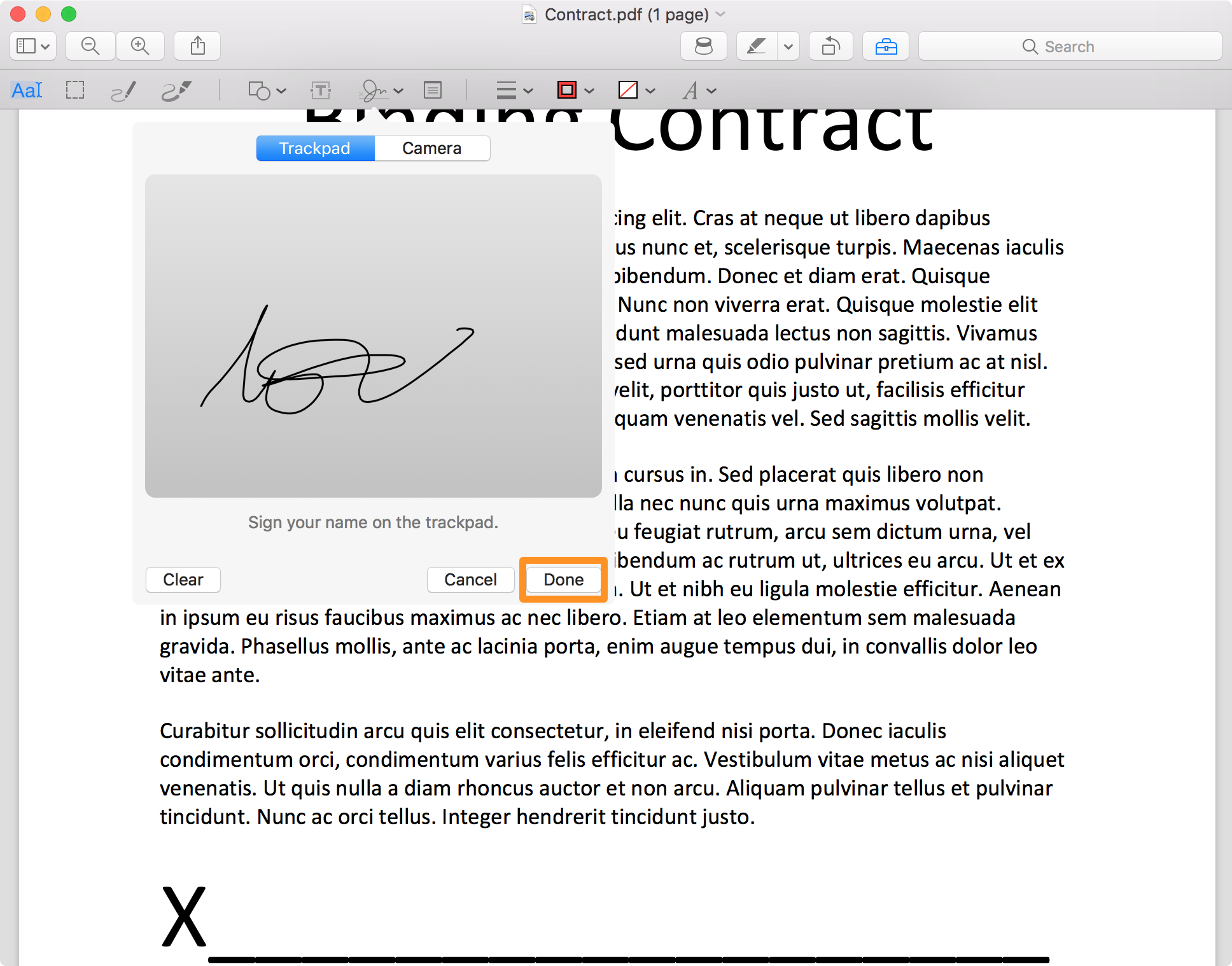 PDF Signed Done