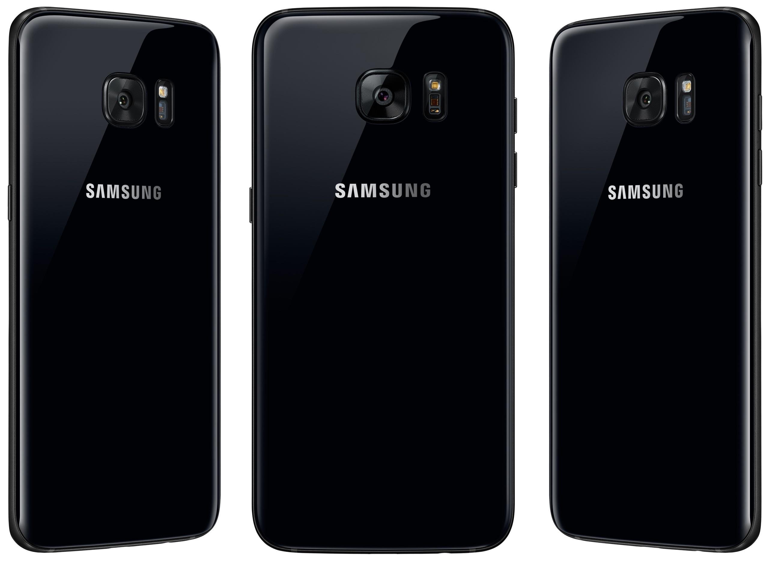 Samsung Galaxy S7 Black Pearl front 002