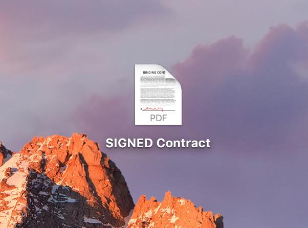 Signed PDF File