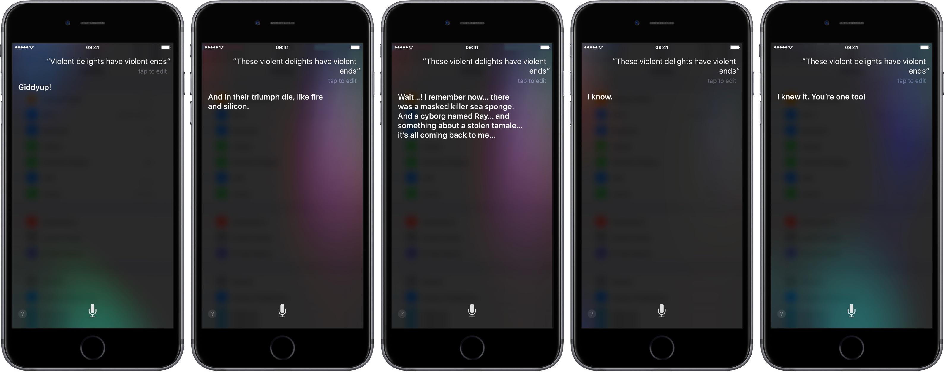 Siri Westworld responses iPhone screenshot 003