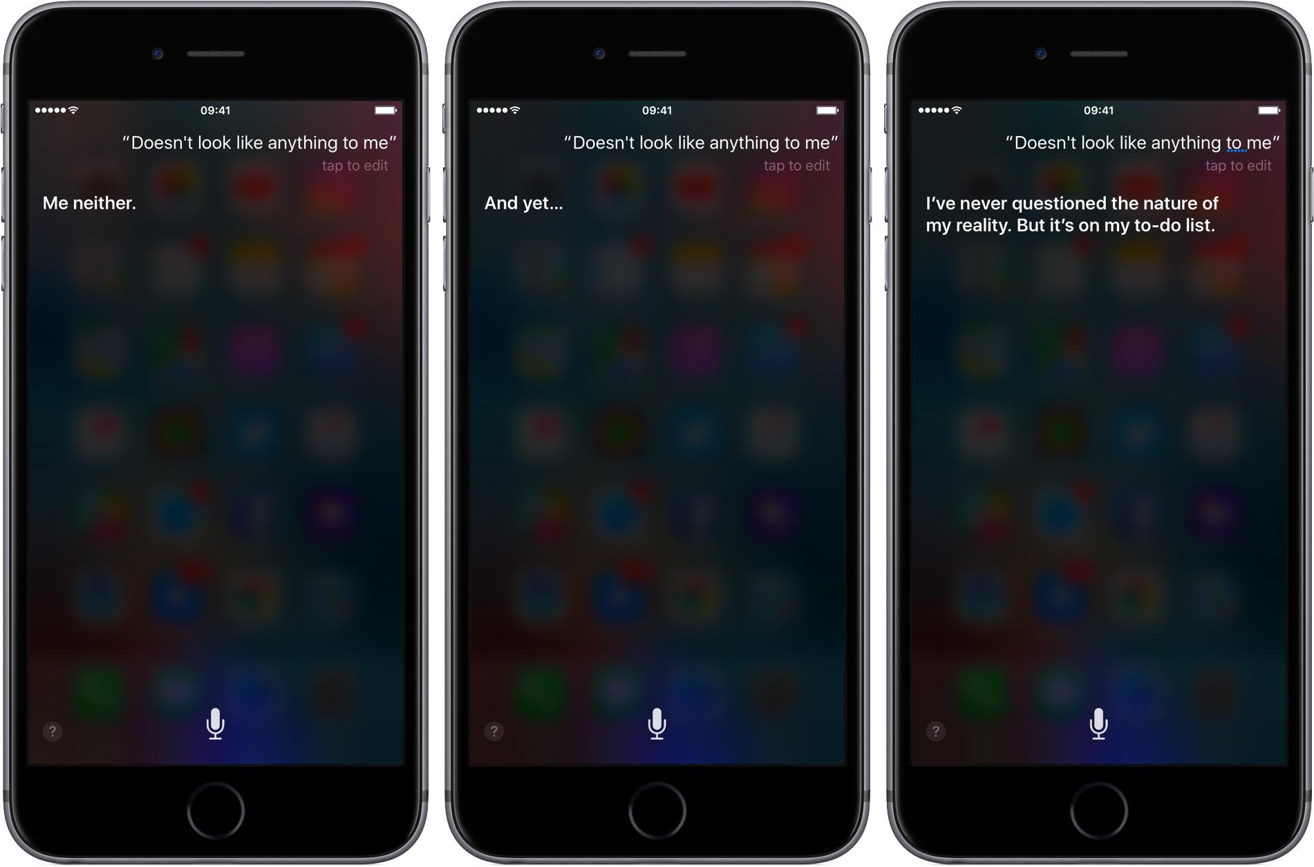 Siri Westworld responses iPhone screenshot 004