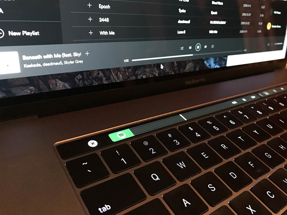 Spotify Touch Bar image 001