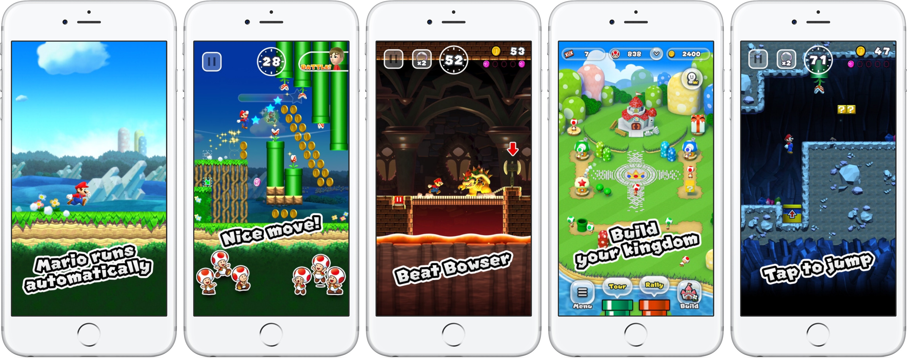Super Mario Run for iOS iPhone screenshot 001
