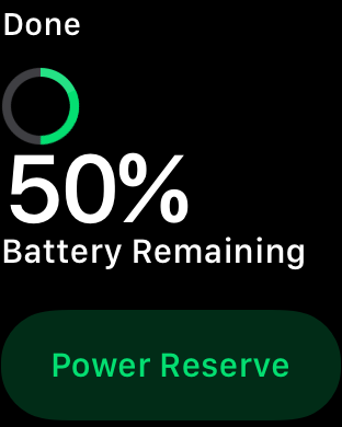 apple watchos3 power rsrv