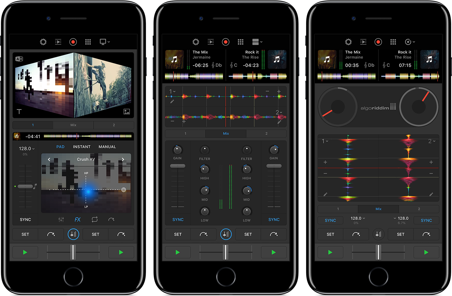 djay Pro for iPhone screenshot 012