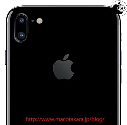 iPhone 7s five inch vertical dual cameras MAc Otakara 001