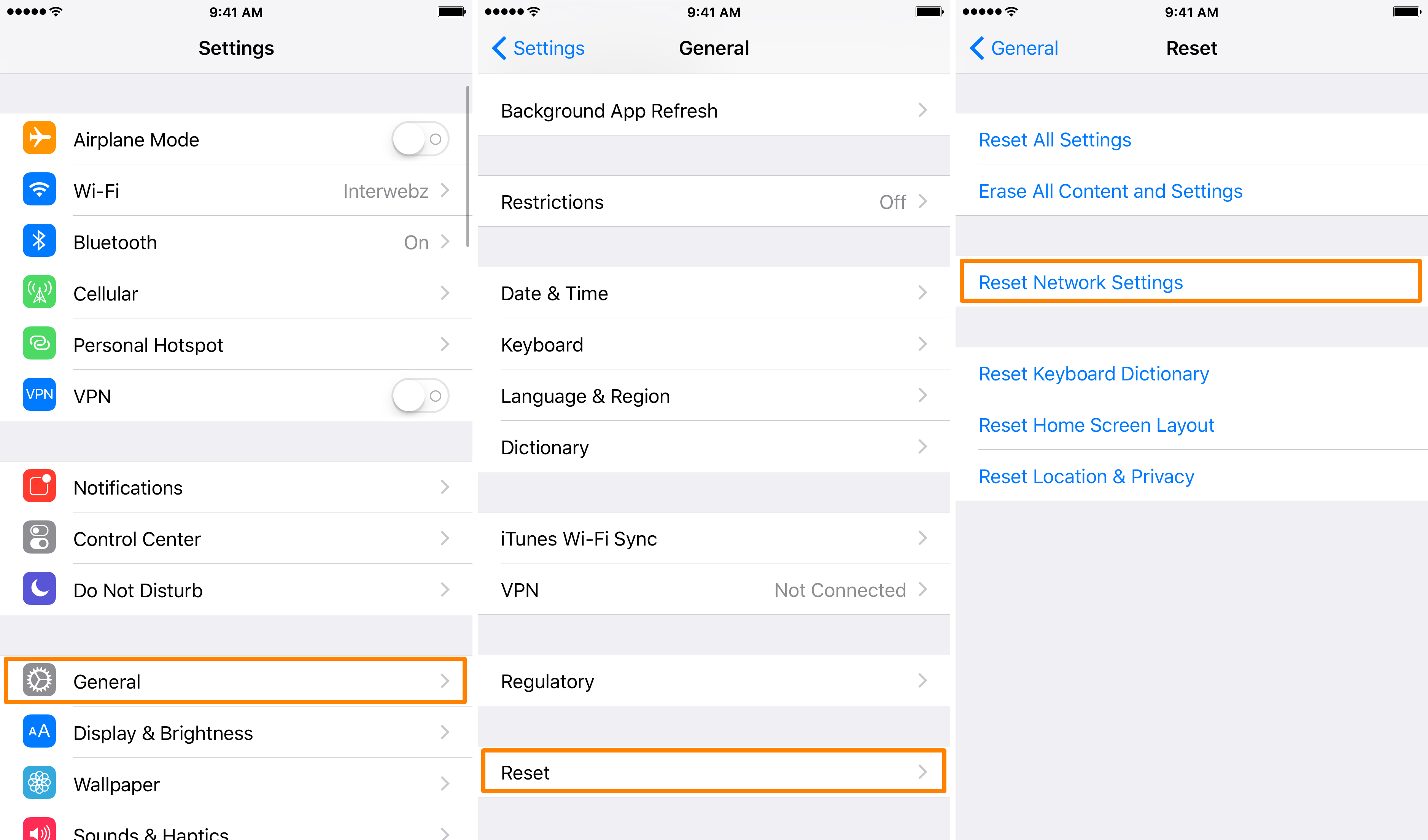 iphone reset network settings how to restart your iphone without using the home or power 2677