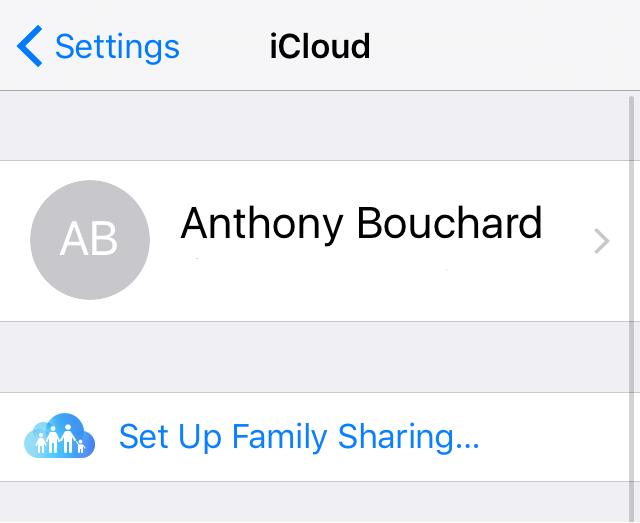 Las notas de iCloud no se sincronizan: asegúrese de que el iPhone iCloud haya iniciado sesión