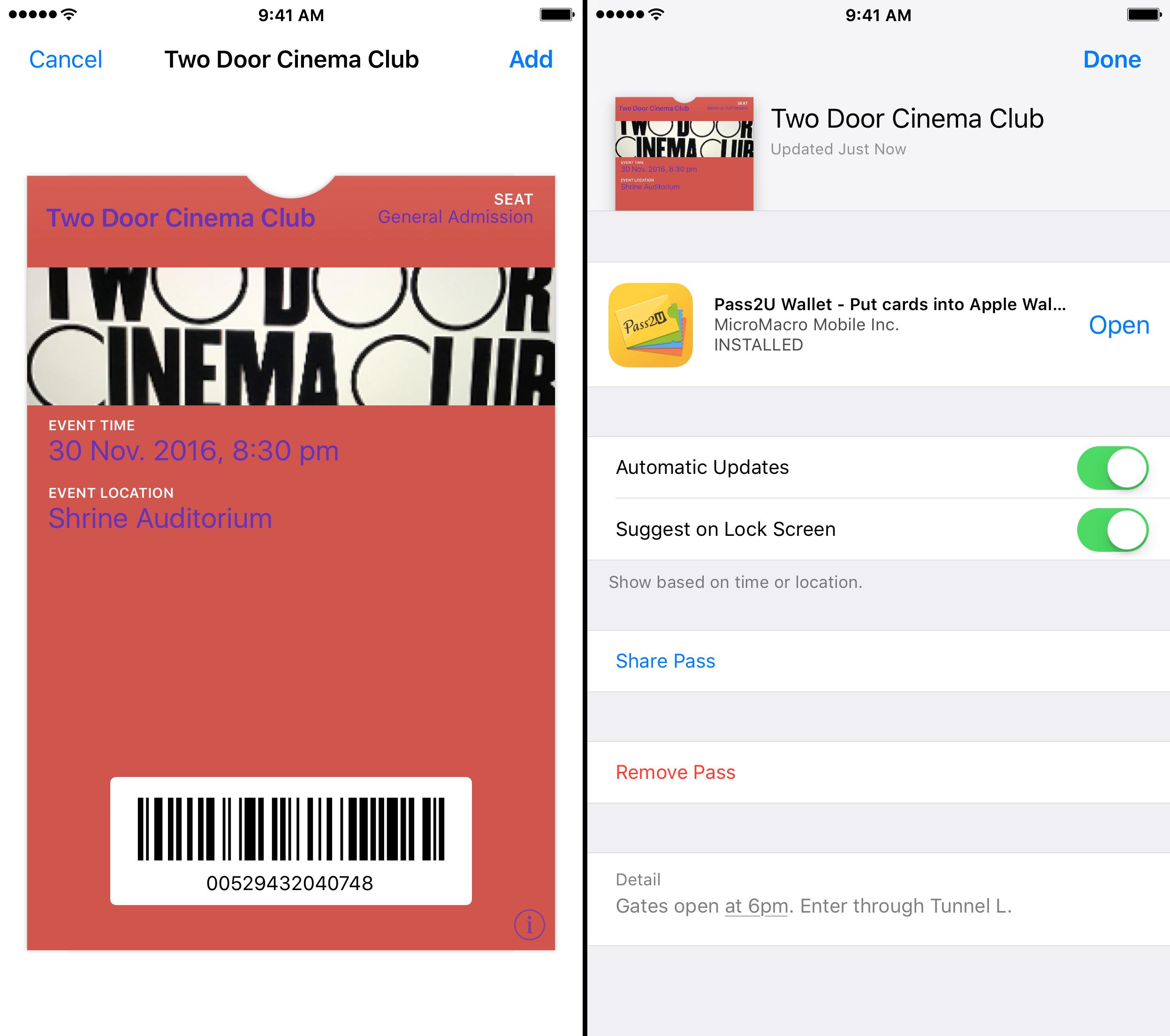 pass2u app review ios 4